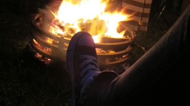 Fire pit brazier