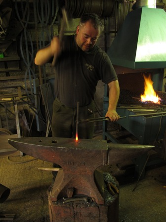 Upsetting mild steel bar