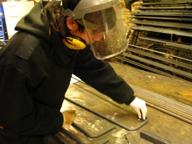 Blacksmith apprentice James Cuthbertson - Ironart of Bath