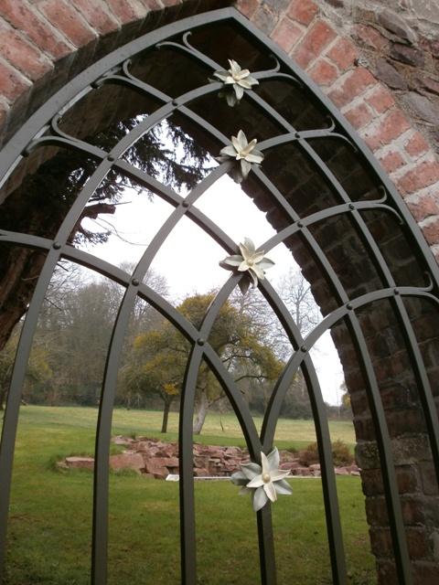 A gothic single gate, Ironart of Bath