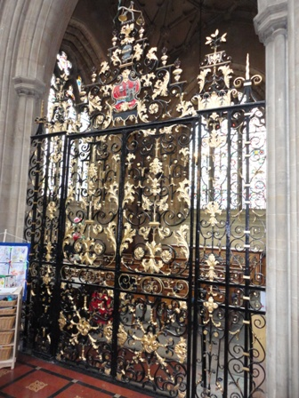 William Edney gates at St Mary Redcliffe Church, Bristol