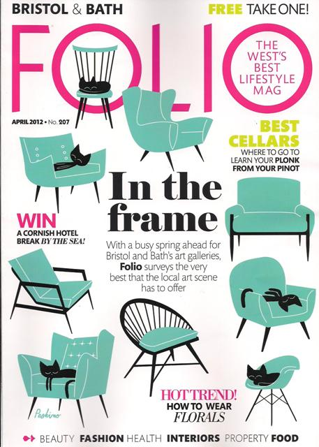 Folio Magazine - April 2012 front cover