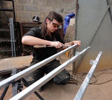 James Cuthbertson, Ironart's apprentice artist blacksmith