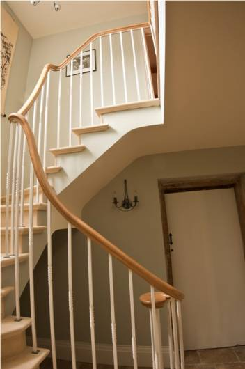 Wrought iron balustrade, Devizes
