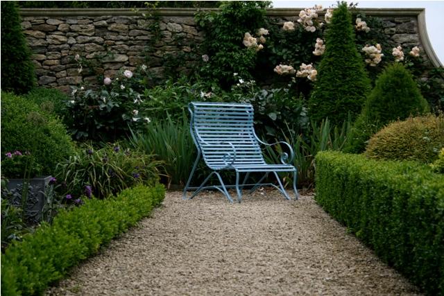 Ironart's Lansdown chair in Oriental Blue