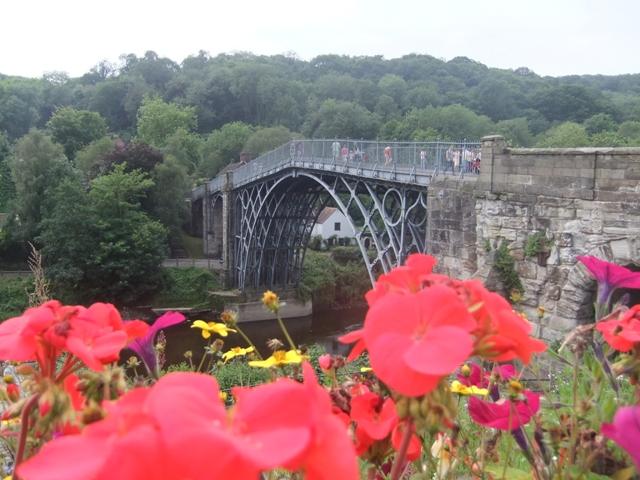 Abraham Darby's Iron bridge, Shropshire