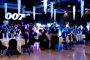 Bespoke 007 event for Sky